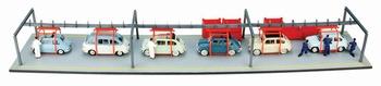 Fiat  Fabrieks montage band   1/43