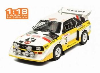 Audi Sport Quattro  S1 # 2 RAC Rally 1985  1/18