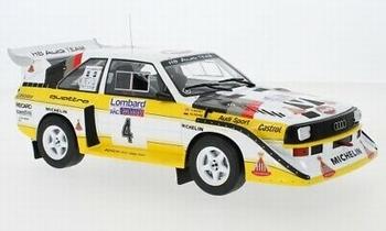 Audi Sport Quattro  S1 # 4 RAC Rally 1985  1/18