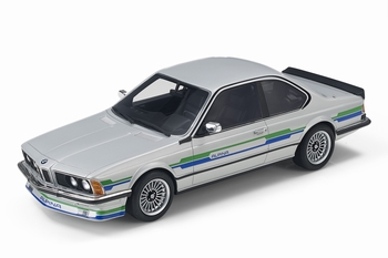 BMW Alpina B7 Zilver - Silver   1/18