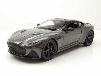 Aston Martin DBS Superleggera Grijs metallic Grey  1/24
