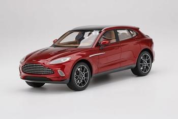 Aston Martin DBX Hyper 2020 Rood  Bordeaux Red  1/18