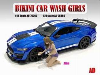 Bikini Car wash girl Alisa  1/18