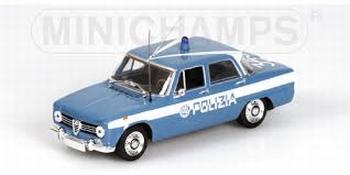 Alfa Romeo Giulia 1970 Polizia Politie   1/43