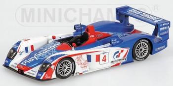 Audi R8 1000 KM Spa 2005 Ortelli / Gounon #4  1/43