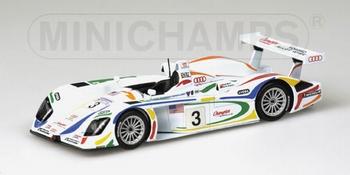 Audi R8 Le Mans 24h 2001 Herbert/Kelleners/Theys # 3  1/43