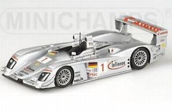 Audi R8 Infineon Sebring 12h 2003 Winners Biela/Werner/Peter  1/43