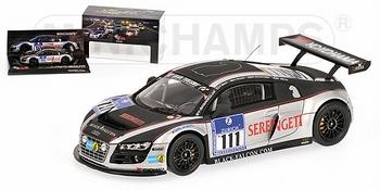 Audi R8 LMS Team Black Falcon 24h Nurenburgring 2010 #111  1/43