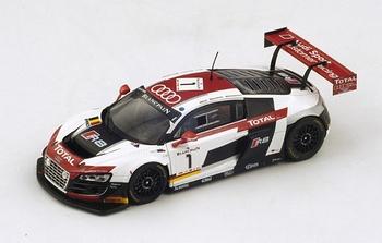 Audi R8 LMS Ultra Belgian Team Winner 24h of Spa 2014  1/43