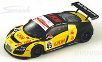 Audi R8 LMS 12 h of Merdeka 2010 #45  1/43