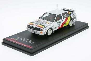Audi Quattro  A1  #4 Winner Scotish rally 1985 Dunlop Hella  1/43