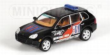 Porsche Cayenne Turbo IMSA Medical car ALMS 2003  1/43