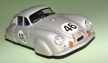 Porsche 356 Light metal coupe 1951 #46  1/43