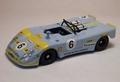 Porsche  Flunder Le Mans 1972 # 6 Klause Weigel 1/43