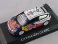 Citroen C4 WRC Rallye de Grande Bretagne 2009  Red Bull Loeb 1/43