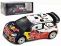 Citroen ds3 WRC #1 Winner Italia Sardegna 2011 Red Bull Loeb 1/43