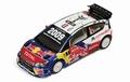 Citroen  C4 WRC # 1 Loeb Red Bull Total Ralye Wales 2009 1/43