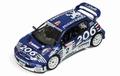 Peugeot 206 WRC # 2  Loix Smeets Condroz 2003 1/43