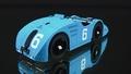 Bugatti Type 32 Tank GP de France 1923 # 6 1/43