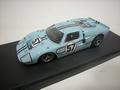 Ford GT40 MKII B #57 Le Mans 1957 Hawkins Bucknum 1/43