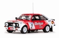 Ford Escort RS1800 #2 Droogmans /Geron Skoda Rally 1981 1/43