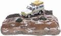Land Rover Defender & diorama 1/43