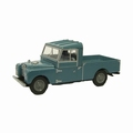Land Rover 109 open  back Blue 1/43