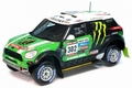 Mini cooper BMW all 4 Racing # 302 winner Dakar 2012 Monster 1/43