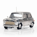 Mini cooper David Bowie 40 th ANIVERSARY 1999 Chroom 1/43