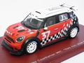 Mini Countryman WRC Paris auto show presentation # 37 1/43