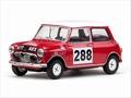 Morris Mini cooper # 288 Rally Monte Carlo 1963 1/43