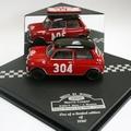 Morris Mini cooper # 304 Rally Monte Carlo 1962   1 st Dames 1/43