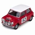 Morris Mini Cooper S # 52 Rally Monte Carlo 1965 1/43