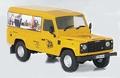 Land Rover defender JCB Limited edition 1/43