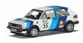 VW Golft GTI 16 v mk2 Dunlop RAC 1988 Shell 1/43