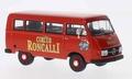 Mercedes Benz L206 bus Circus Roncalli 1/43