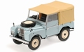 Land Rover Blue   limited edition 504 1/18
