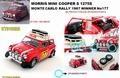 Morris Mini Cooper S Mk I # 177 Rally Monte Carlo 1967 1/18