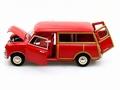 Morris Mini Traveller Red Rood 1/18