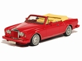 Bentley Continental Convertible  Red 1/43