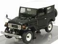 Toyota Land Cruiser 40 serie Zwart Black 1/43