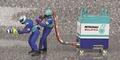 Pitcrewfiguren Sauber Petronas Refueller set Tank set figuur 1/43