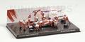 Pit crew diorama Toyota Panasonic M,Salo Figuren figuur 1/43
