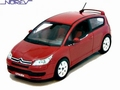 Citroen C 4 Mettalic red Rood 1/43