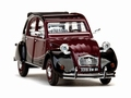Citroen 2 CV  Charleston  2PK Dark red / black  1982 1/43