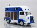 Citroen Type H transport de Chevaux Paarden transport 1/43