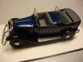 Citroen C 6 Torpedo  1931 Cabriolet Blue/Black Blauw/zwart 1/43