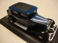 Citroen D6 Berline Blue / Black  Blauw/ zwart 1/43