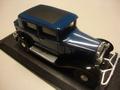 Citroen D6 Berline Blue / Black  Blauw/ zwart 1/43