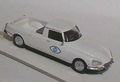 Citroen DS FR3 Pick up  Wit white 1/43